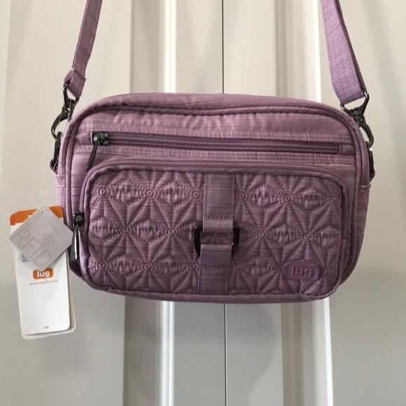 703b1d32e lug Bags | Carousel Lilac Crossbody Purse New | Poshmark